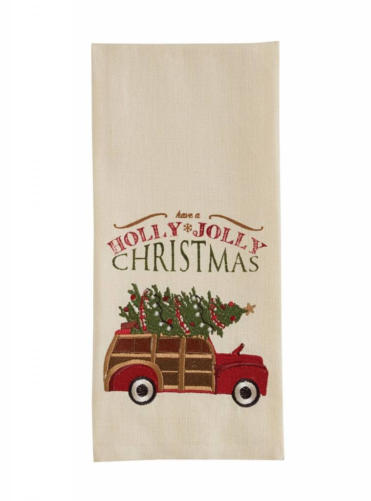 Park Designs Holly Jolly Woody Dishtowel