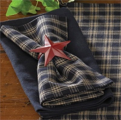 Park Designs Napkin, Sturbridge, Navy