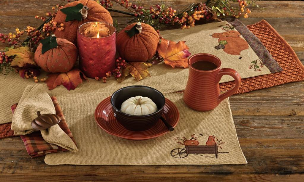Park Designs Placemat, Pumpkin Harvest
