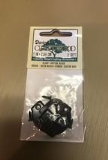 Small Button Clasp, Black