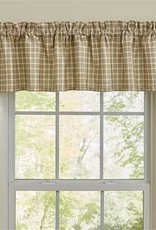 Park Designs Stoneboro Check Valance, Cream