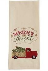 Park Designs Merry and Bright Truck Dishtowel