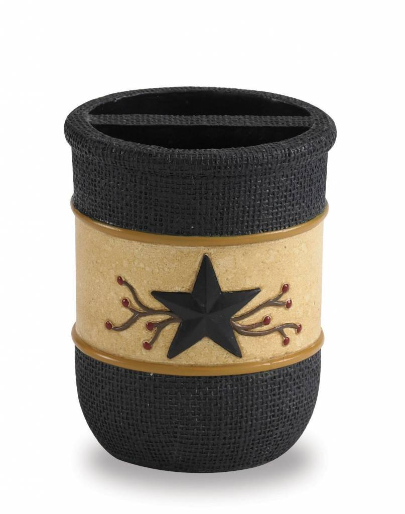 Park Designs Toothbrush Holder, Star Vine