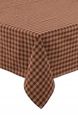"Park Designs Tablecloth, Sturbridge, Wine 54"" square"