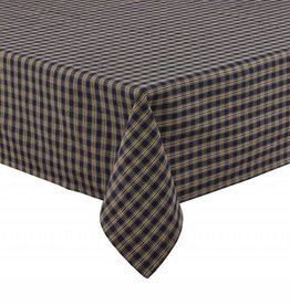 Park Designs Sturbridge Tablecloth Black 54""