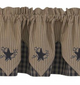Park Designs Point Valance, Sturbridge Star Navy