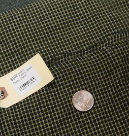 Heavy Fabric, Black Teeny Check
