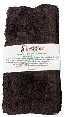 """Janey Lynn's Design, Inc. Go Go Espresso Shaggie, set of 2 10""""x10"""""""