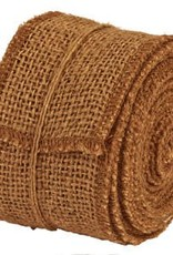 """The Country House Collection Dark Burlap Ribbon, 2"""" x 10 yards"""