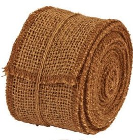 "The Country House Collection Dark Burlap Ribbon, 2"" x 10 yards"
