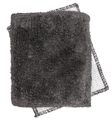 """Janey Lynn's Design, Inc. Cracked Pepper Shrubbie, set of 2   5""""x6"""""""