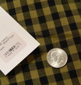 Dunroven House, Inc. Fabric, Black/Tdye Check