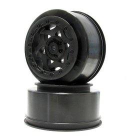 Aka Racing 23005 1/10 Cyclone SC Whl SC10 4x4 F/R Blk (2)