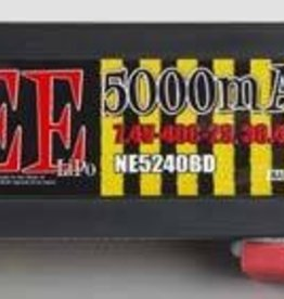 Trincorp. Llc NE5240BD LiPo 2S 7.4V 5000mAh 40C Deans