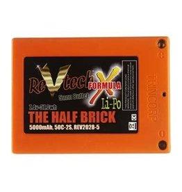 Trincorp. Llc The Half Brick Pack LiPo 5000mAh 7.4V,2S,50c: B5