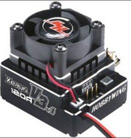 HobbyWing XERUN-120A-V3.1 ESC BLACK (1/10, 1/12 CAR)