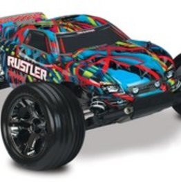Traxxas Rustler 1/10 Stadium Truck, Hawaiian Edition, RTR W/ iD