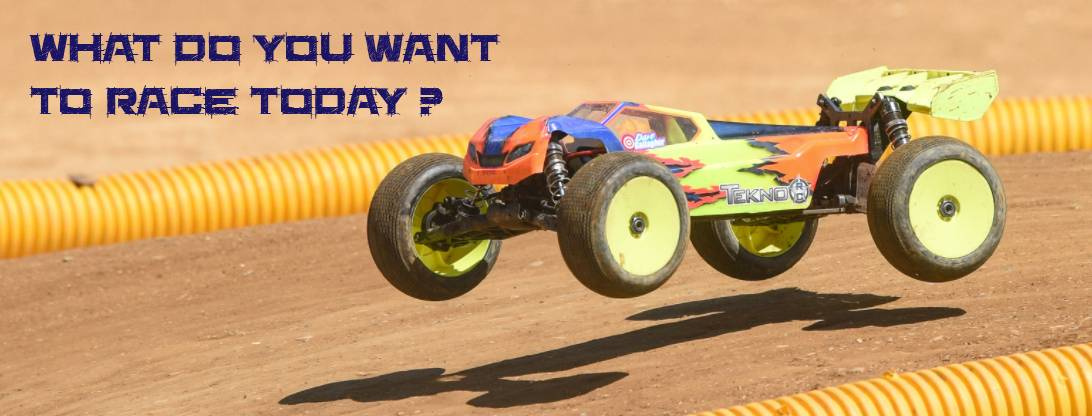 What do you want to Race today ?