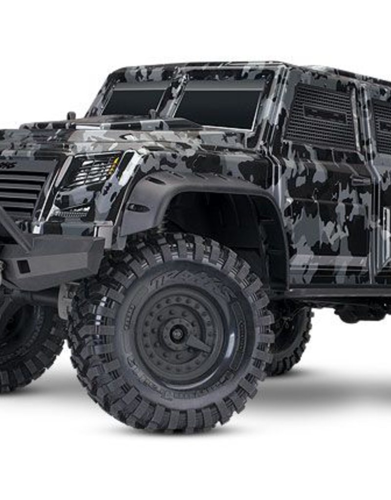 82066-4_CAMO TRX-4 Tactical Unit: 4WD Electric Truck with TQi Traxxas Link Enabled 2.4GHz Radio System