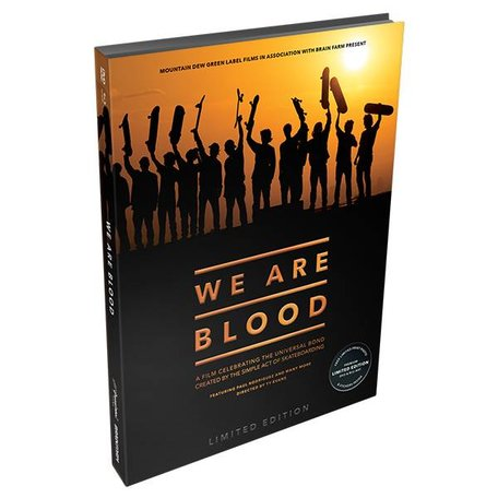 WE ARE BLOOD DVD