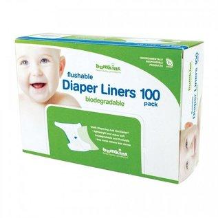 Bumkins Diaper Liners, 100 pk