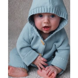 Beba Bean Knit Hoodie & Pant Set (3 Colours)