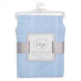 Lulujo Cellular Knit Blanket, Lulujo