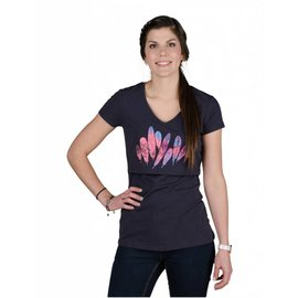 Momzelle Nursing Top, FEATHERS