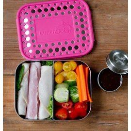 Lunchbots Duo Stainless Lunch Box (3 Colours)