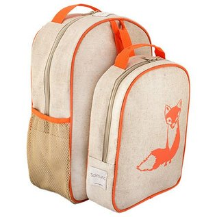 SoYoung Raw Linen Toddler Backpack