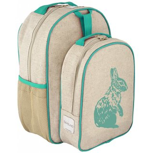 SoYoung Raw Linen Toddler Lunch Box