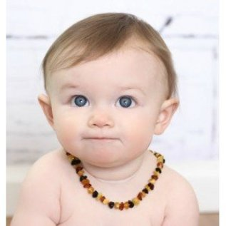Healing Hazel Baltic Amber Teething Necklace