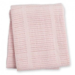 Lulujo Cellular Knit Blanket, Lulujo