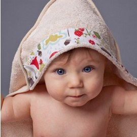 OKO Creations OKO Organic Hooded Baby Bath Towel (6 Designs)