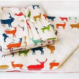 OKO Creations Organic Baby Blanket (3 Designs)