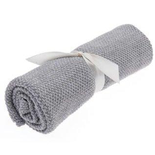 Beba Bean Seed Stitch Blanket