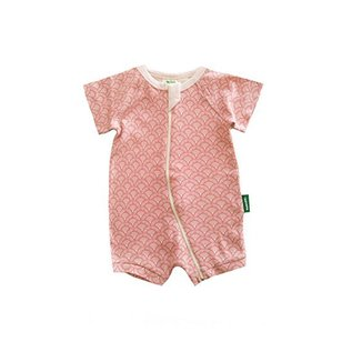 Parade Organics Parade Shorty Zip Romper