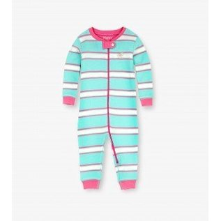 Hatley Hatley Pastel Stripe Coverall