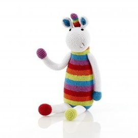 Pebble Pebble Rattle, Rainbow Unicorn