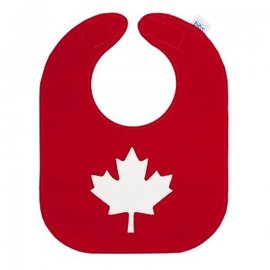 Mally Bibs Maple Leaf Mally Bib