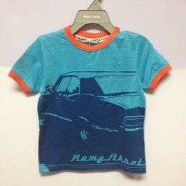 Romy & Aksel T Shirt w Raw Edge, Romy & Aksel
