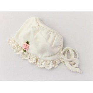 Itty Bitty Baby Co. Itty Bitty Bonnet, Ivory