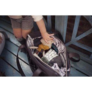SoYoung Emmerson Diaper Tote, Black