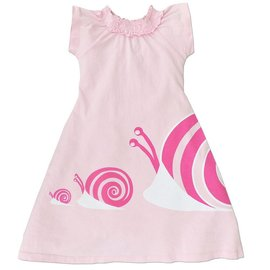 WeeUrban WeeUrban Dress, Snails