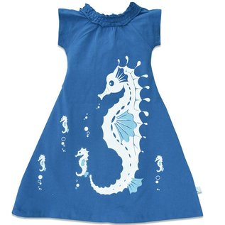 WeeUrban WeeUrban Dress, Seahorse