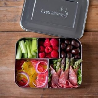 Lunchbots Lunchbots Cinco Bento, Stainless