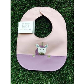 Mally Bibs Unicorn Mally Bib