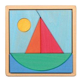 Grimm's Grimm's Sailing Boat Puzzle