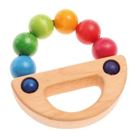Grimm's Grimm's Rainbow Boat Grasping Toy