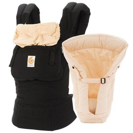 ERGObaby Ergo Original Bundle of Joy, Black & Camel